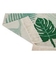 Load image into Gallery viewer, Lorena Canals Washable Rug Tropical Green