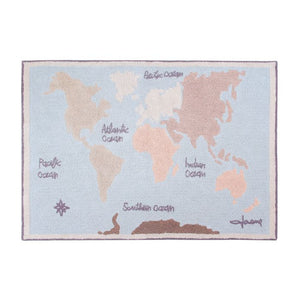 Lorena Canals Washable Vintage Map Rug