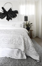 Load image into Gallery viewer, Surraya Kantha Bed Cover
