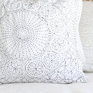 Sun Kantha Cushion