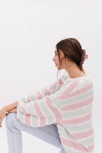 Cotton Candy Stripe Sweater