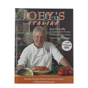 """Joey's Italian"" Cookbook by Joey DeCuffa"