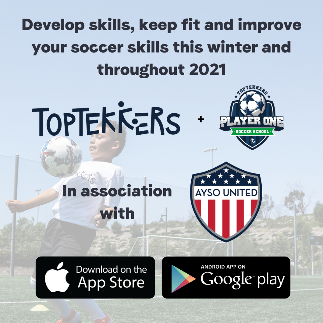 AYSO United TopTekkers and Player One