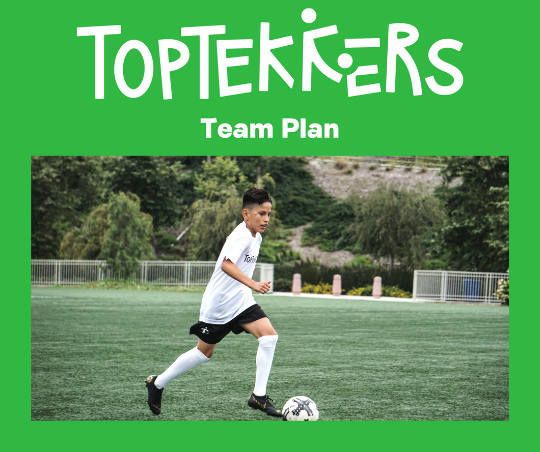 TopTekkers Team Plan 6 months (12-16 Players)