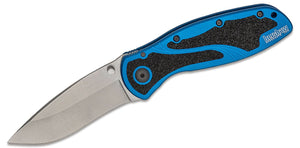 Kershaw Blue handle Stonewash