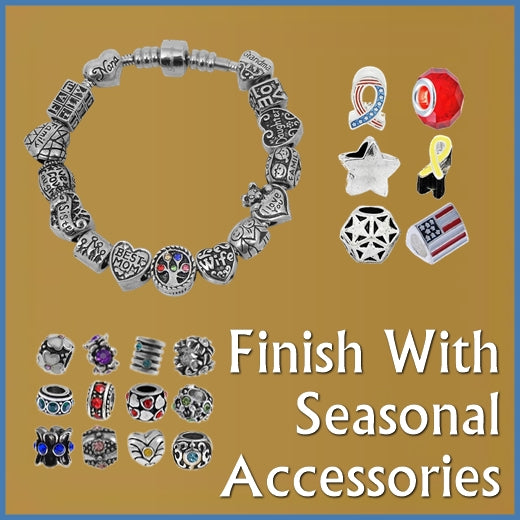 Finish with Temporary or Seasonal Accessories: