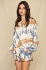 Scout Cotton Blend Tie Dye Pullover
