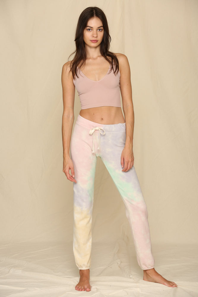 Haleigh Pocketed Tie Dye Joggers