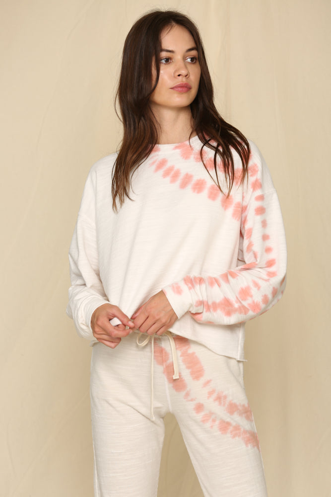 Scottsdale Cotton Blend Tie Dye Pullover