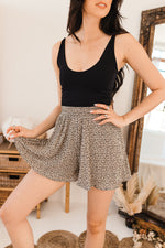Gwen Pleated Crinkle Shorts