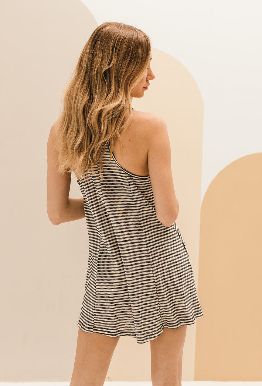 Raphly Pocketed Relaxed Romper