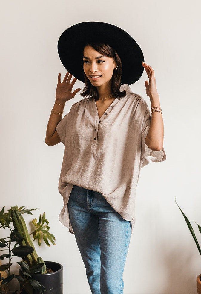Lenny Button Down Top