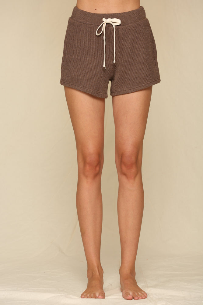 Capitol Reef Knit Shorts - Chocolate