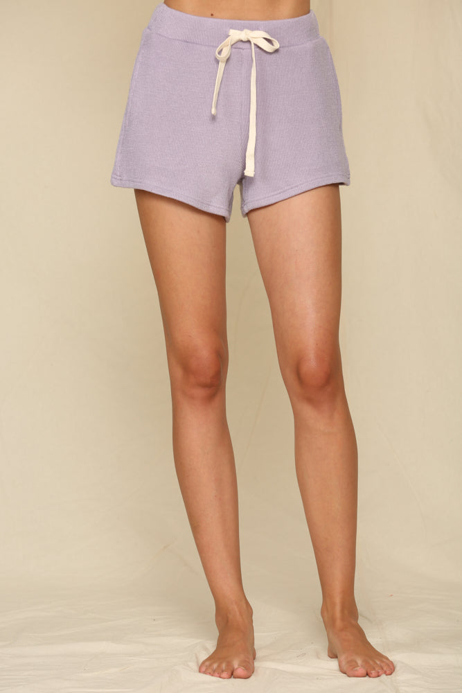 Capitol Reef Knit Shorts - Lavender