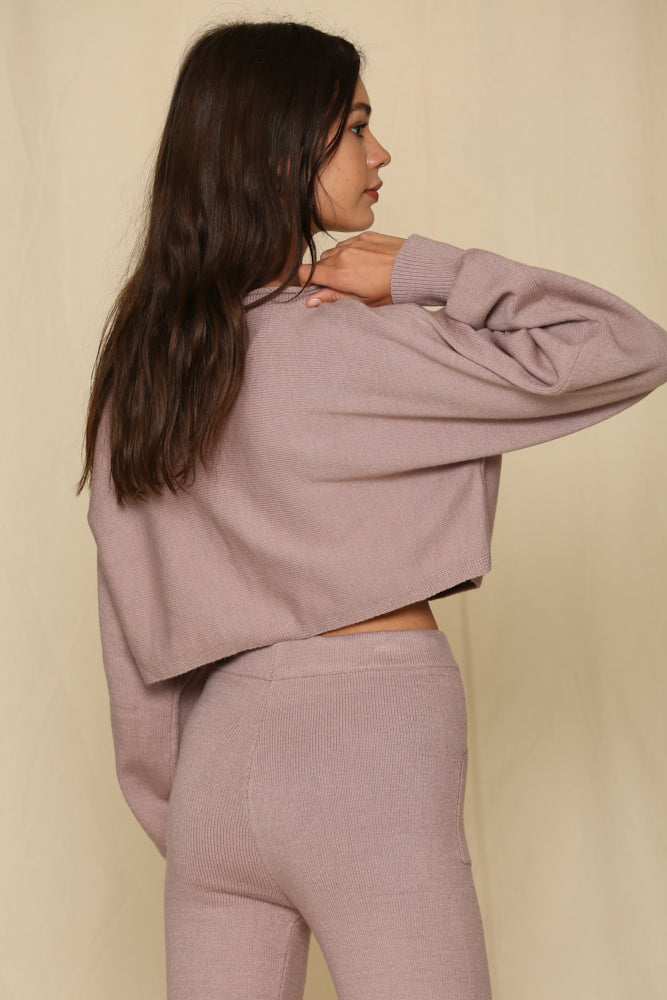Kick Back And Relax Cropped Pullover