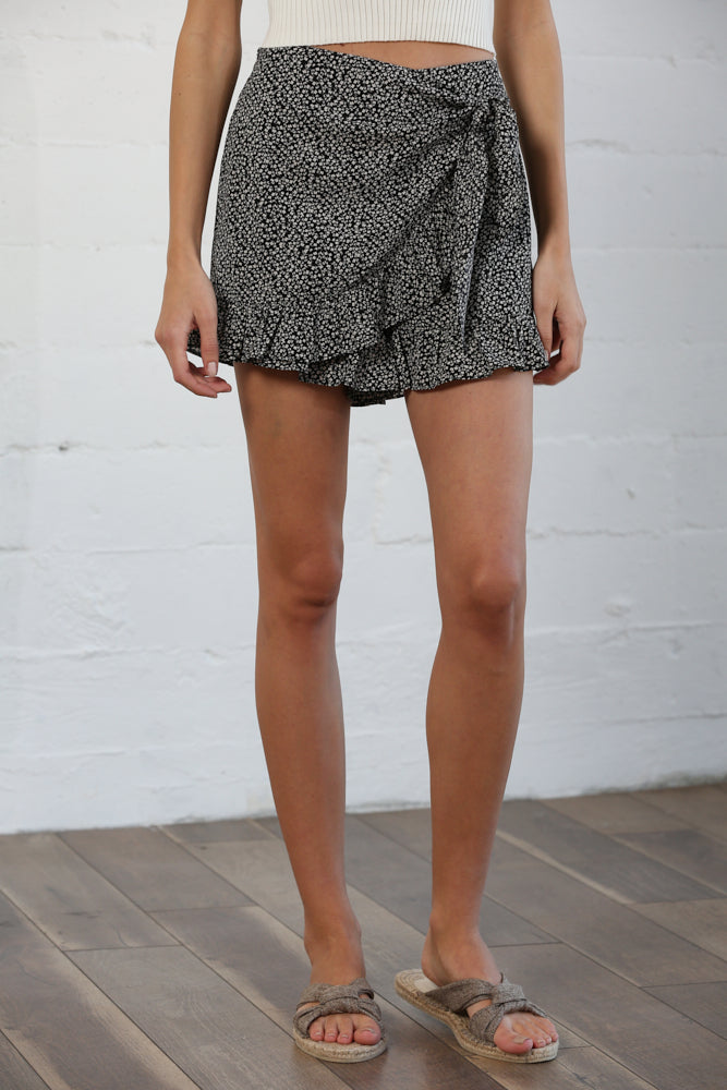 Best For Last Wrap Skort