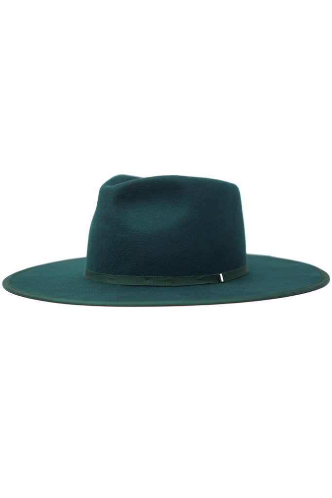 Billie Felt Wool Hat - Hunter Green