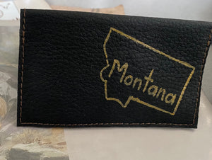 Locally made card wallets