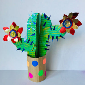 Cactus craft kit