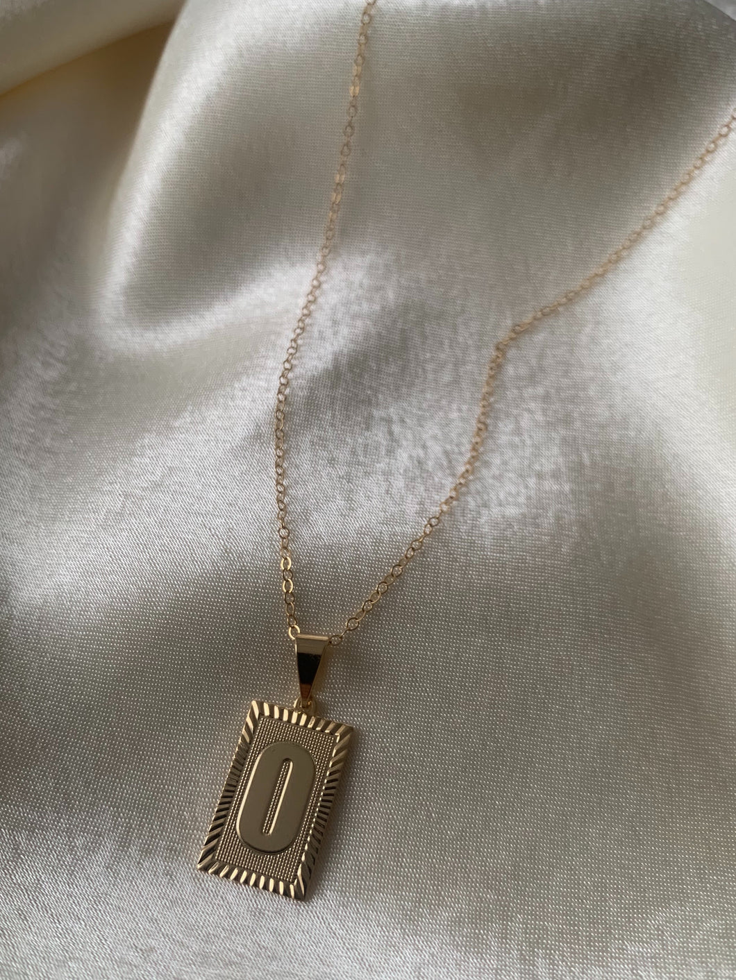 PRE-ORDER Initial Necklace