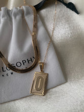 Load image into Gallery viewer, PRE-ORDER Initial Necklace