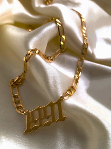 PRE-ORDER Carter Year Necklace