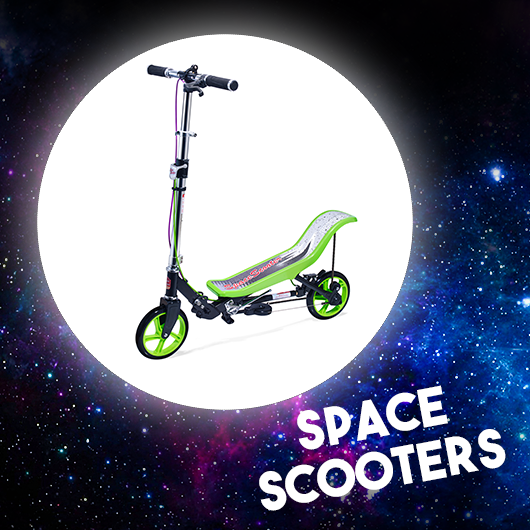 The winners of the SpaceScooter are: