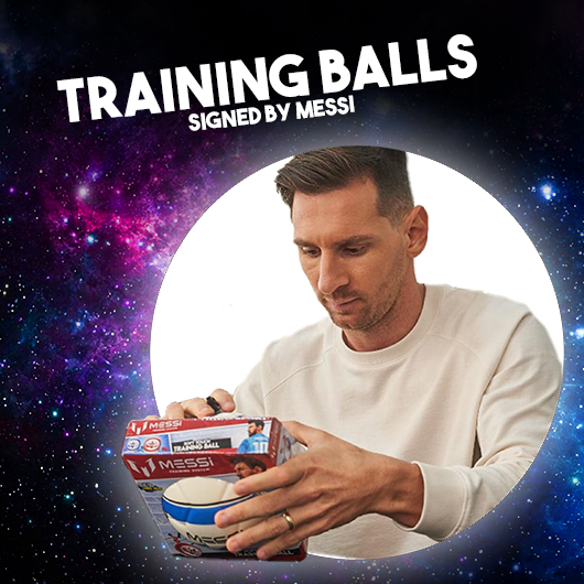 The winners of the signed trainings ball are: Yash from India