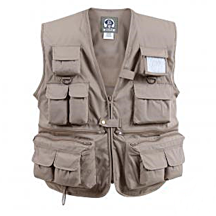 Vest for Explorers and Extreme Travelers