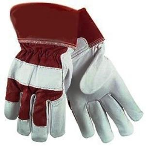 10 Pairs of HD Reinforced Leather Fabric Gloves