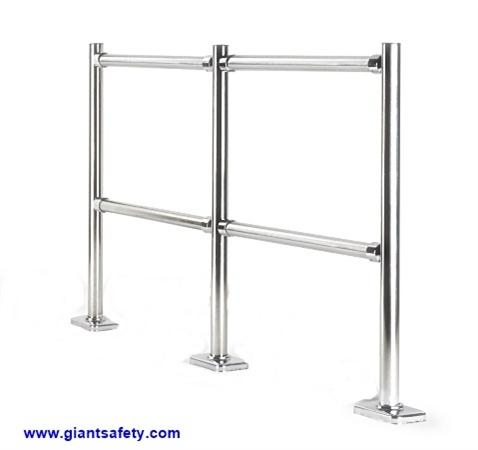 GIANT 38 Stainless Steel Crowd Barrier