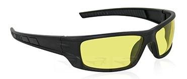 VX9 Black Yellow Goggles
