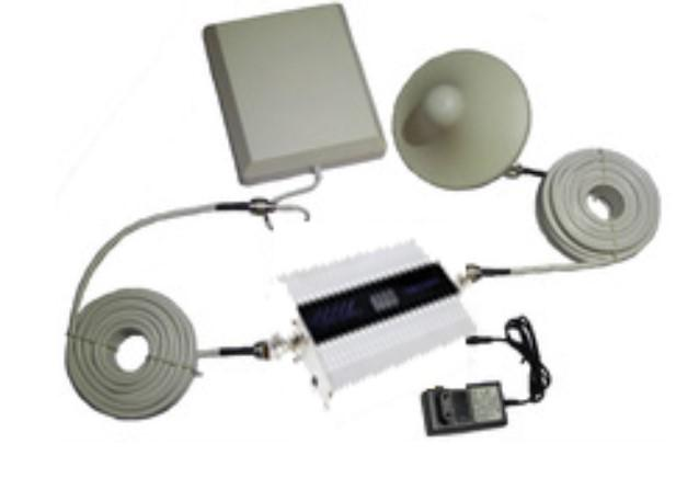 Silver mobile signal repeater kit