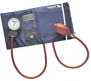 Blood Pressure Reader with Analogue Stethoscope