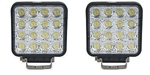 A Pair of 48W LED Headlights