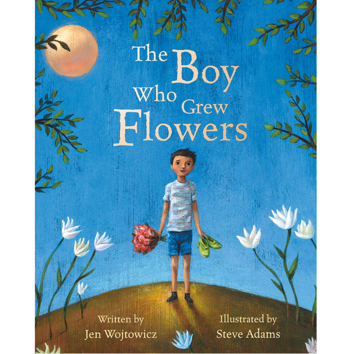 Book - The Boy Who Grew Flowers