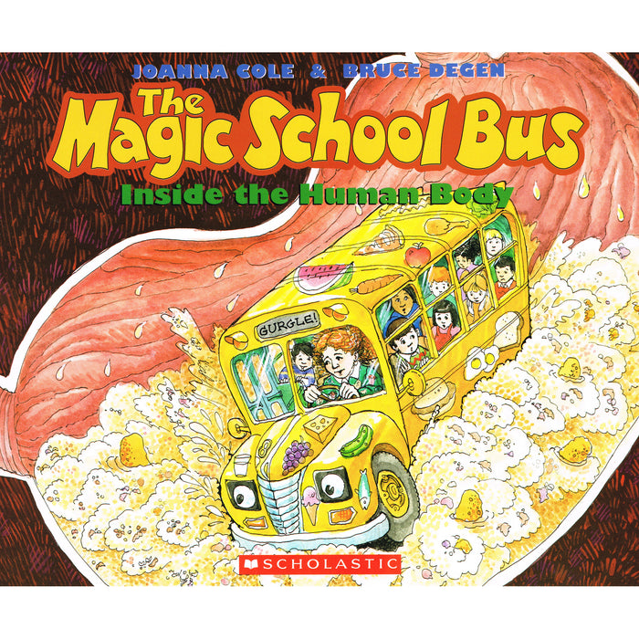 Book - The Magic School Bus: Inside the Human Body
