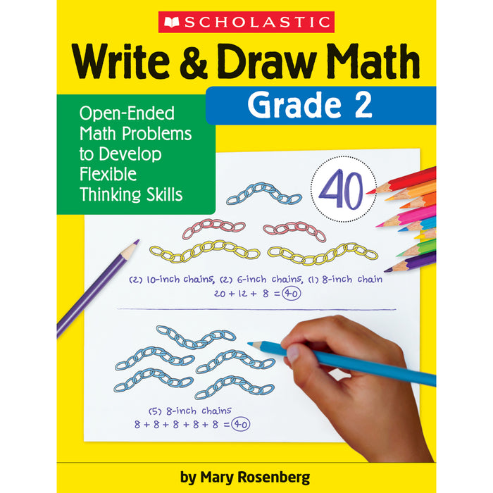 Write & Draw Math Grade 2