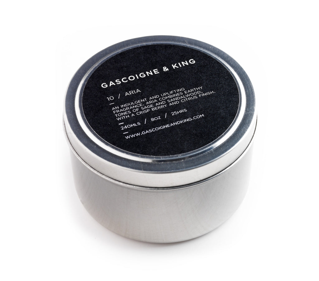 Aria – Cedarwood/Sandalwood/Sage/Red Berry.