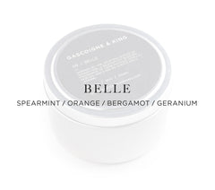 Belle – Spearmint/Orange/Bergamot/Geranium.
