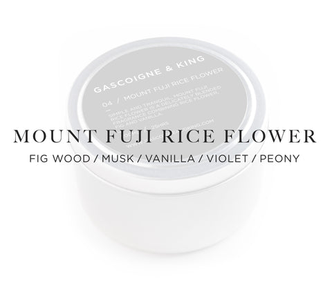 MOUNT FUJI RICE FLOWER
