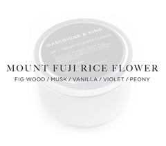 Mount Fuji Rice Flower – Fig Wood/Musk/Vanilla/Violet/Peony.