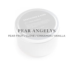 Pear Angelys – Pear Fruit/Clove/Cinnamon/Vanilla.