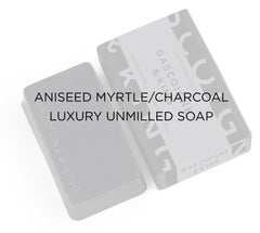 Aniseed Myrtle and Charcoal soap