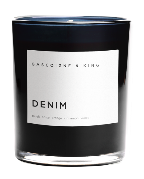 Denim Luxury Scented Candle