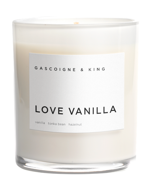 Love Vanilla Luxury Scented Candle