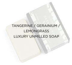 TANGERINE, GERAINIUM & LEMONGRASS SOAP