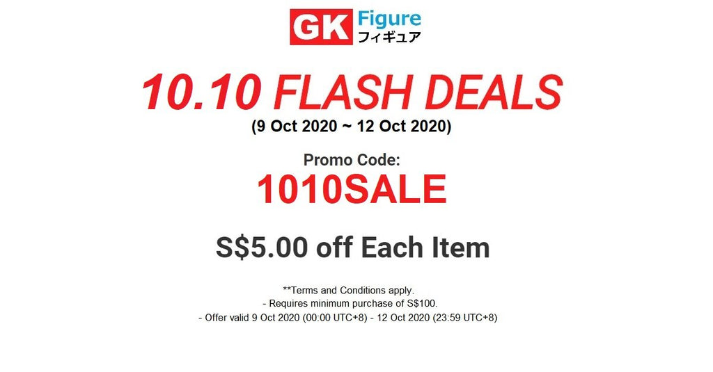 10.10 FLASH DEALS