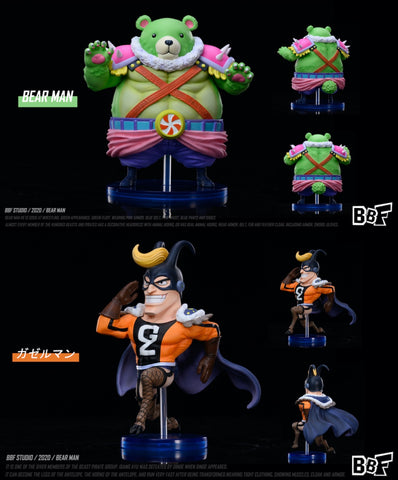 BBF Studio - One Piece Bearman and Gazelleman [PRE-ORDER]