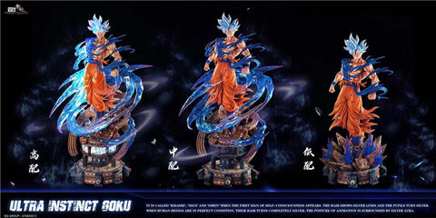 Yun Qi Studio - Dragon Ball Ultra Instinct Goku [PRE-ORDER]